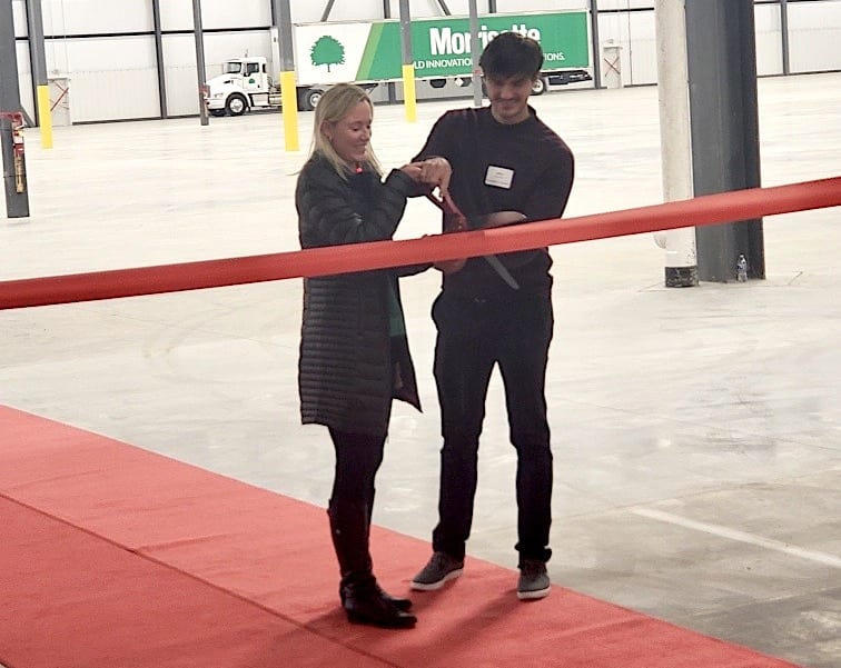 Ribbon Cutting At New Morrisette Facility